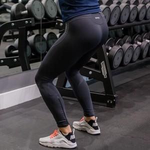 SPIRO Homme Sprint Fitted Plain Pants Sports Gym Entraînement Leggings S171M