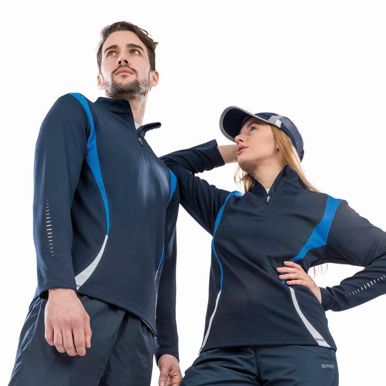 Spiro Unisex Trial Training Full Sleeve Top S178X Sport Running Jogging Top